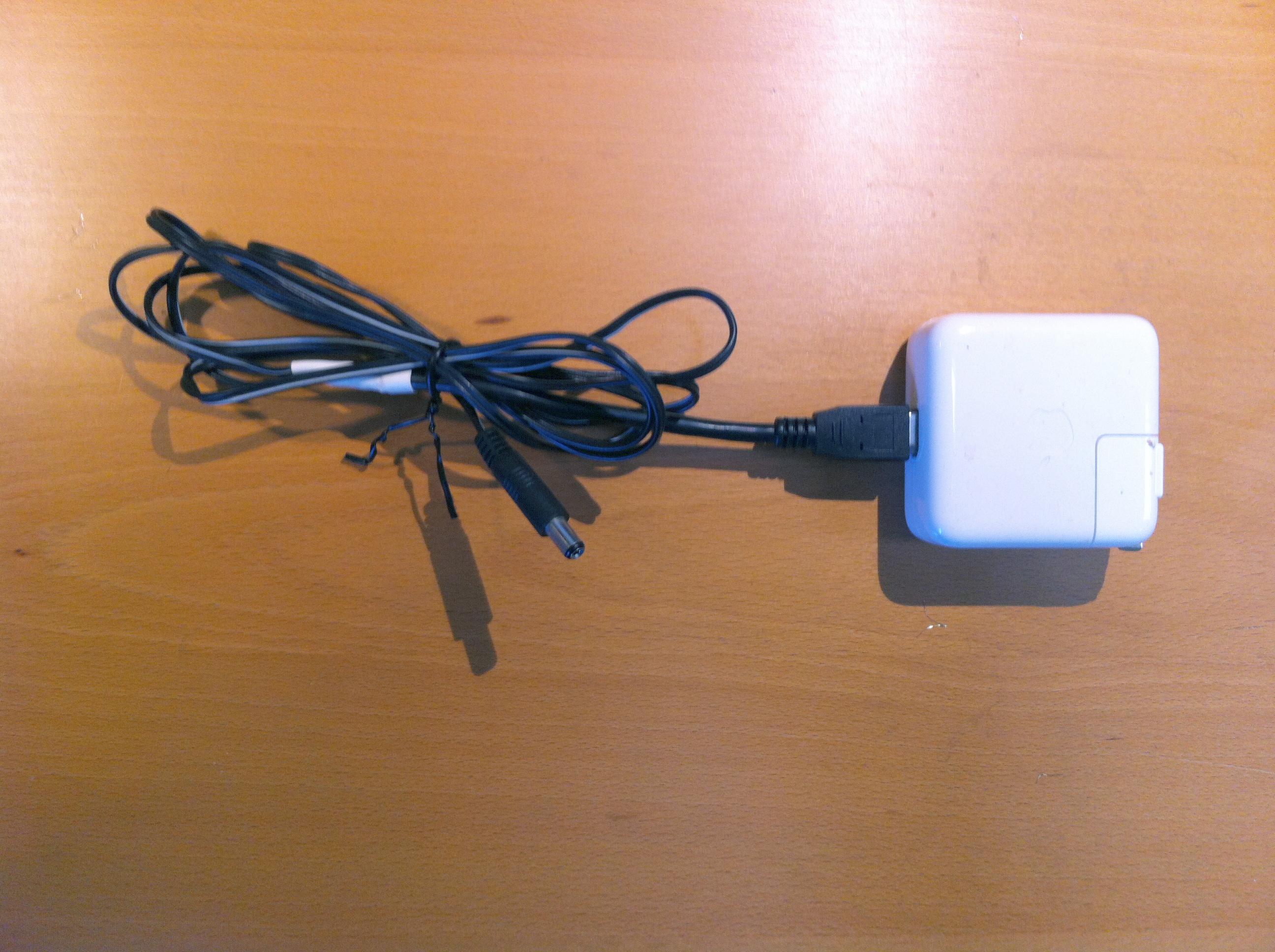 Found @ CRASH Space No. 1: Apple – Arduino Power Supply