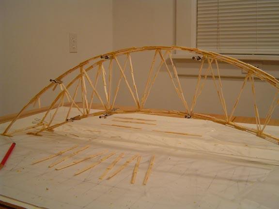 Bridge Building Competition Sunday August 4th 1pm Crash