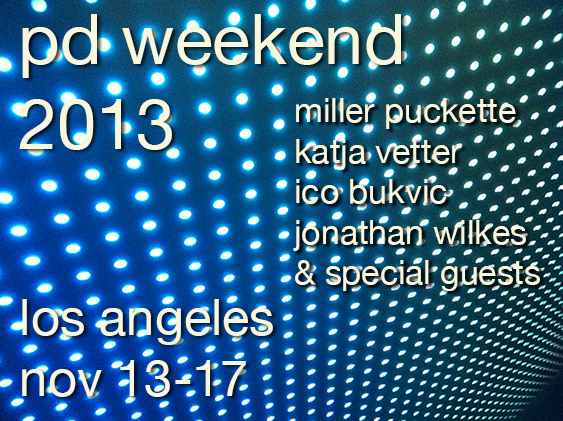 PD Weekend Poster