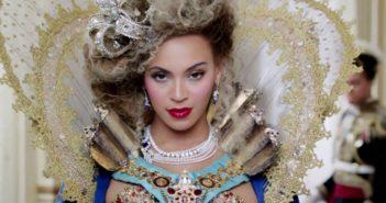 Beyoncé rocking an Elizabethan and Louis XIV inspired modern diva worthy costume