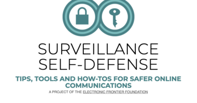 SURVEILLANCE SELF-DEFENSE TIPS, TOOLS AND HOW-TOS FOR SAFER ONLINE COMMUNICATIONS A PROJECT OF THE ELECTRONIC FRONTIER FOUNDATION