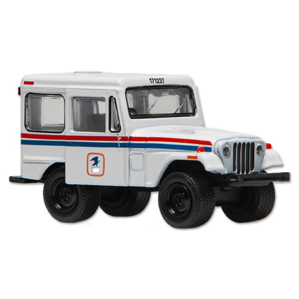 model of the 1971 USPS Jeep